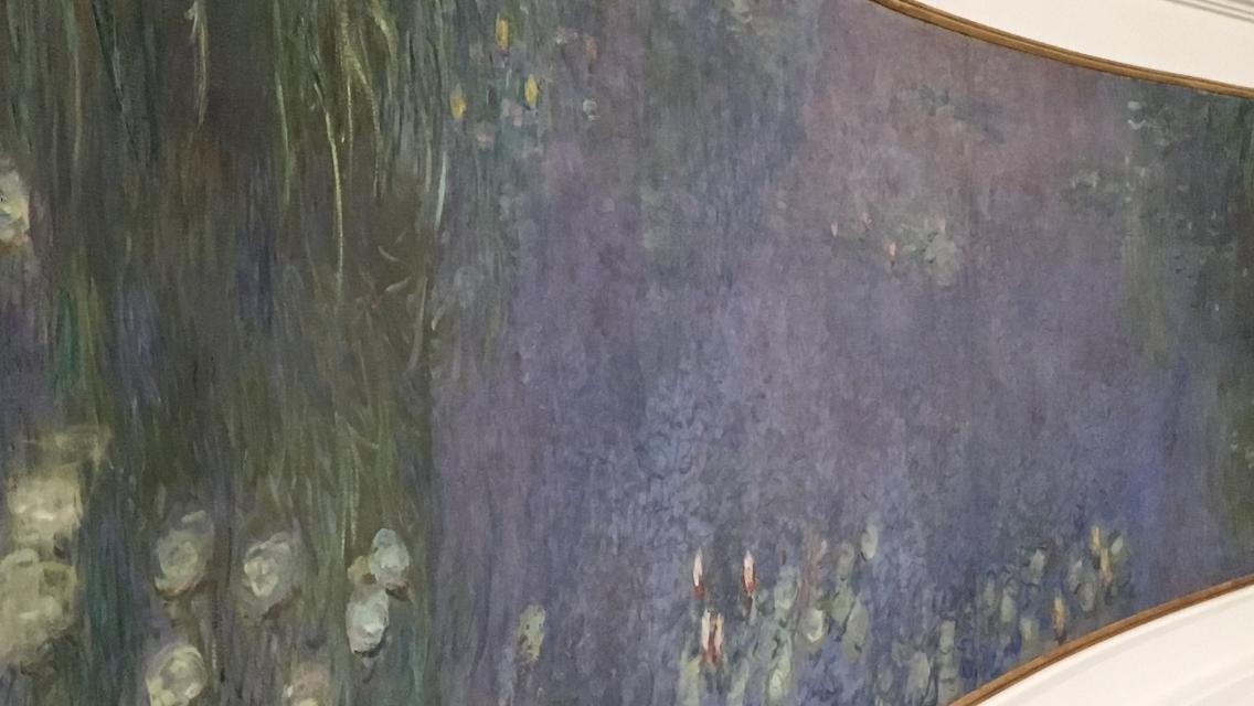 musée de l'orangerie, Les Nymphéas, Claude Monet