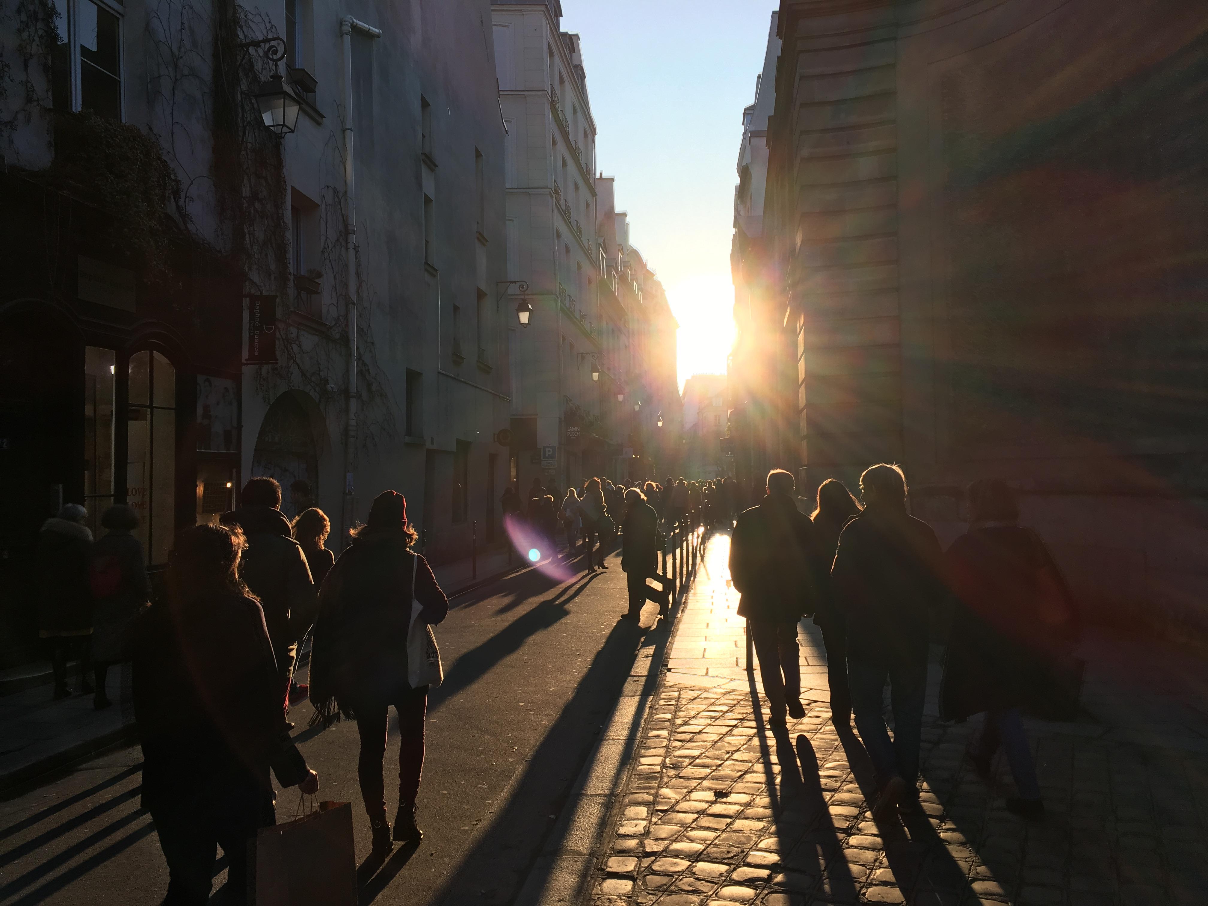 Le marais, Paris, rue
