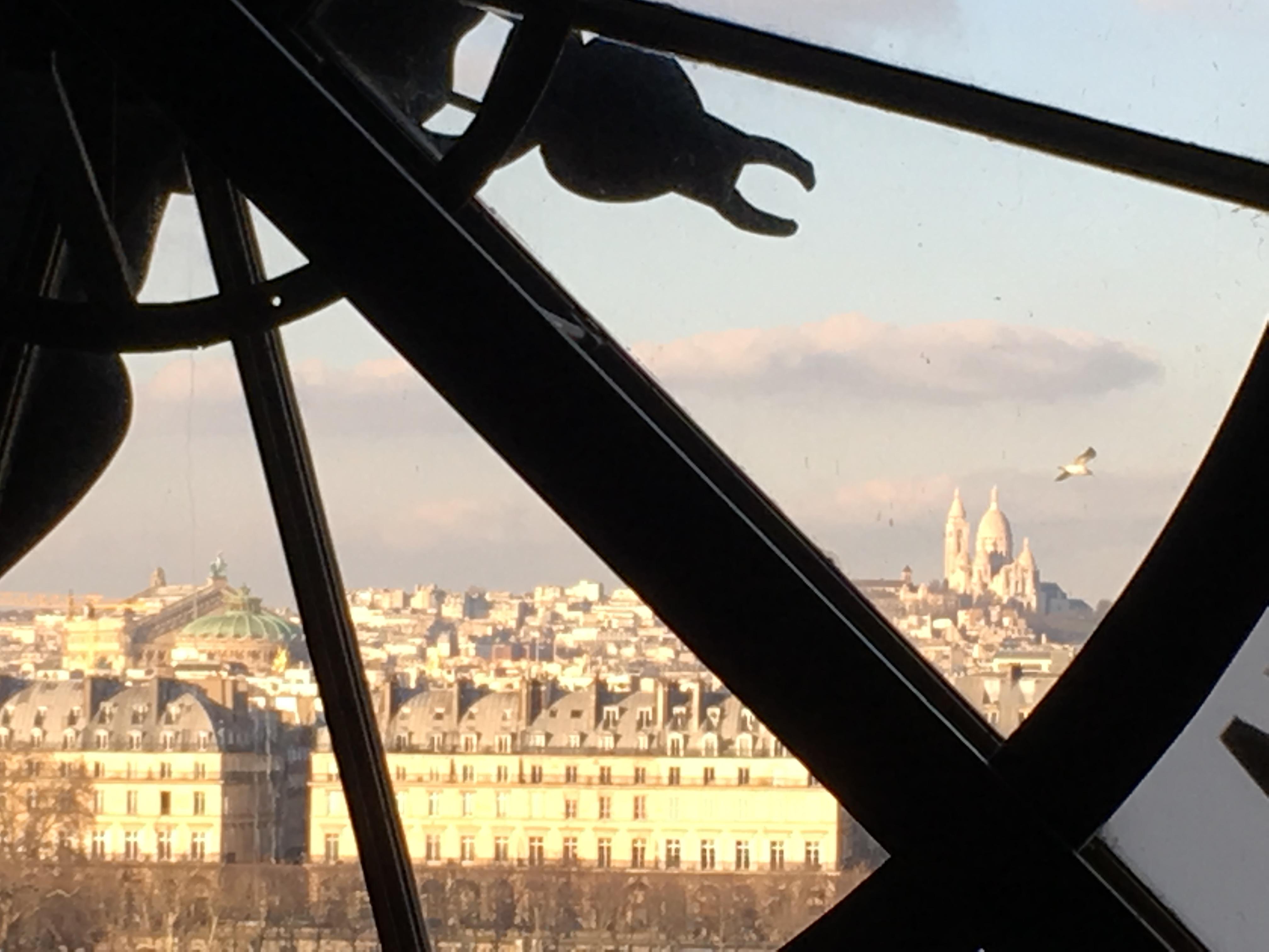 Vue Sacré Coeur, Musée d'Orsay
