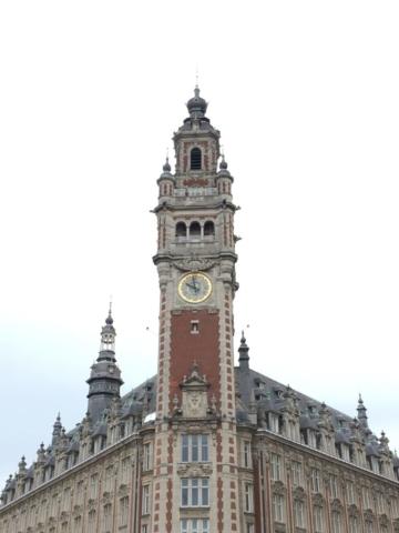 Le beffroi du Palais de la Bourse, Lille