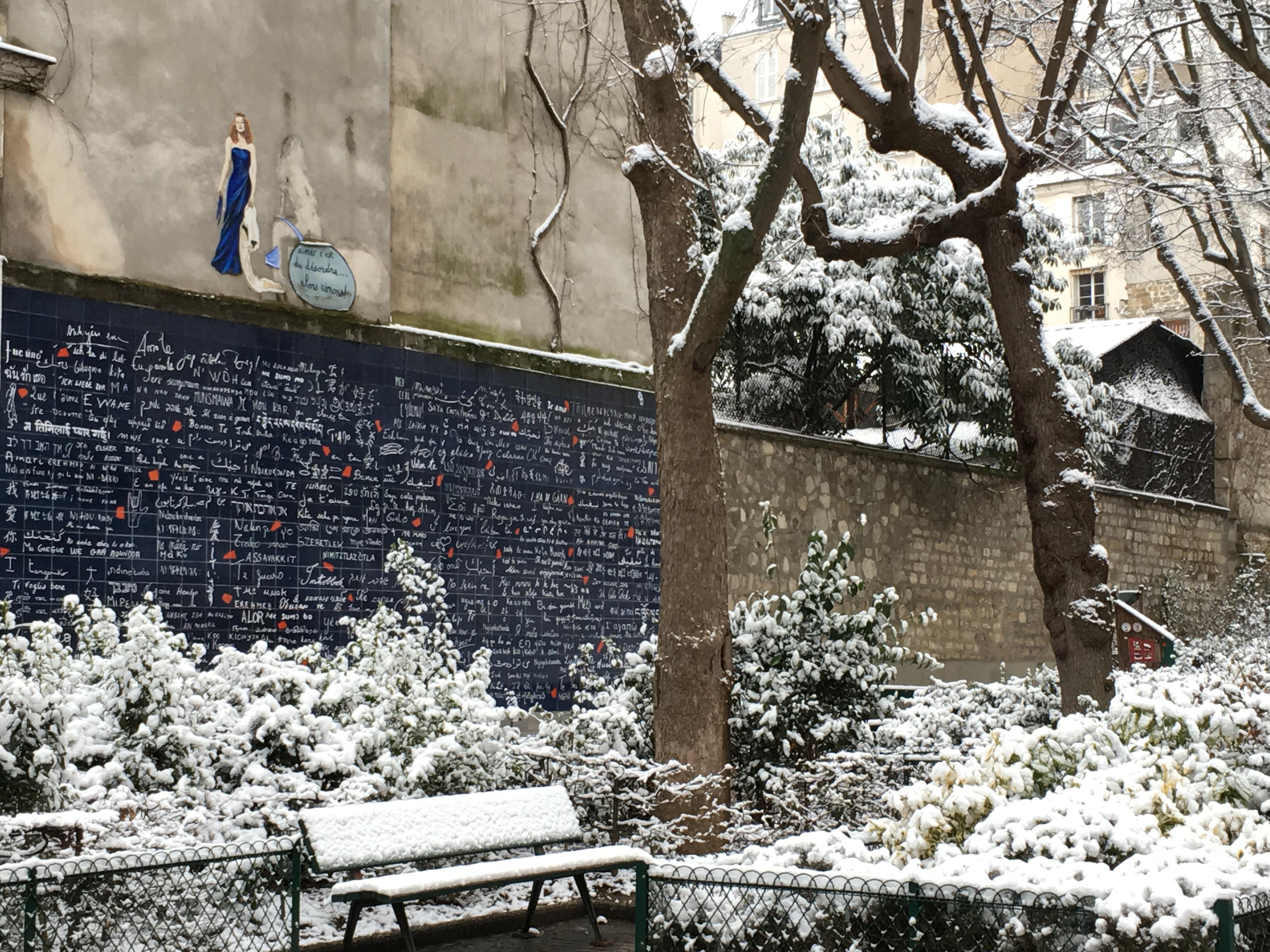 Le mur des je t'aime, Abbesses (Paris)