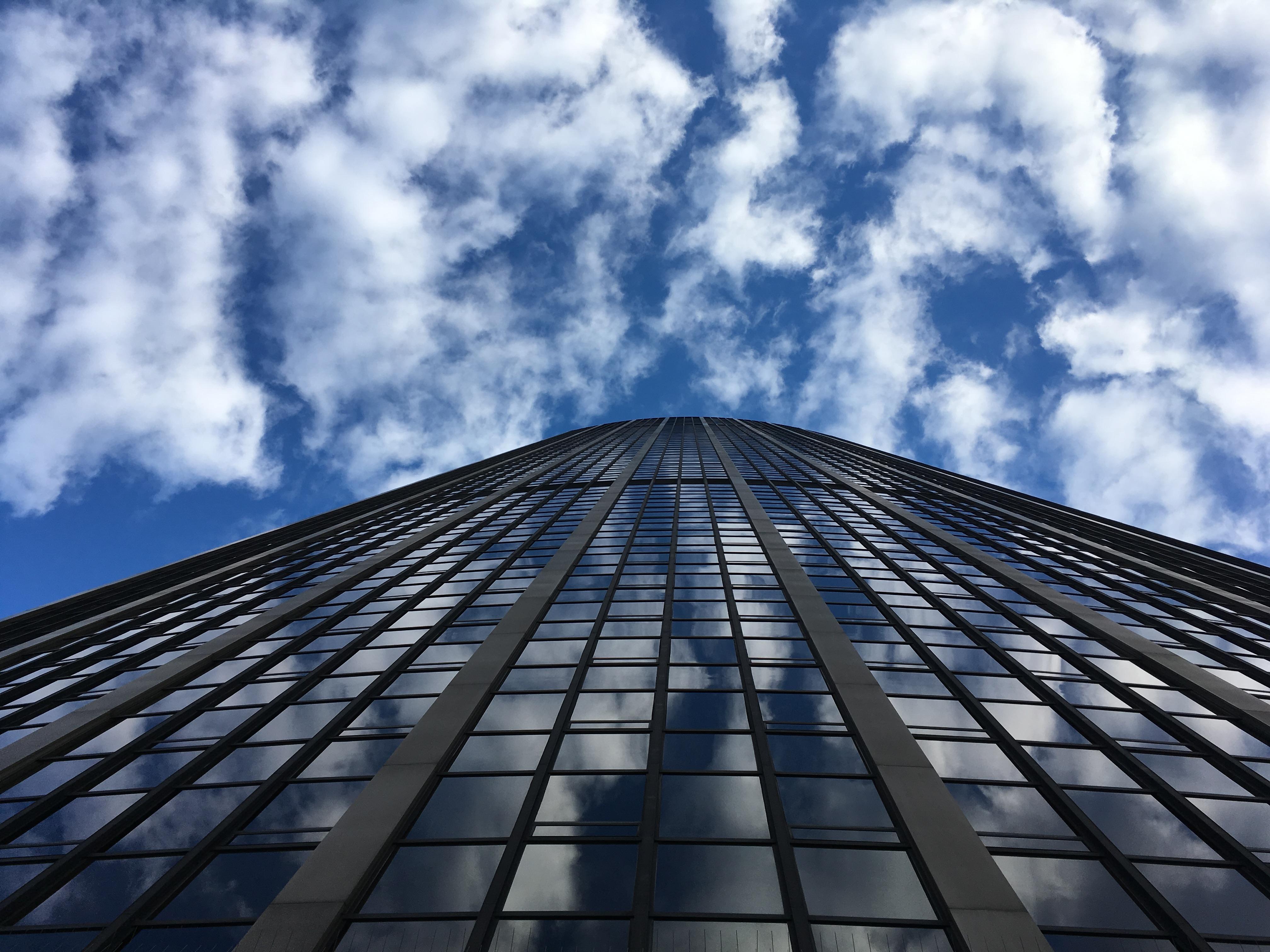 tour Montparnasse, building, ciel