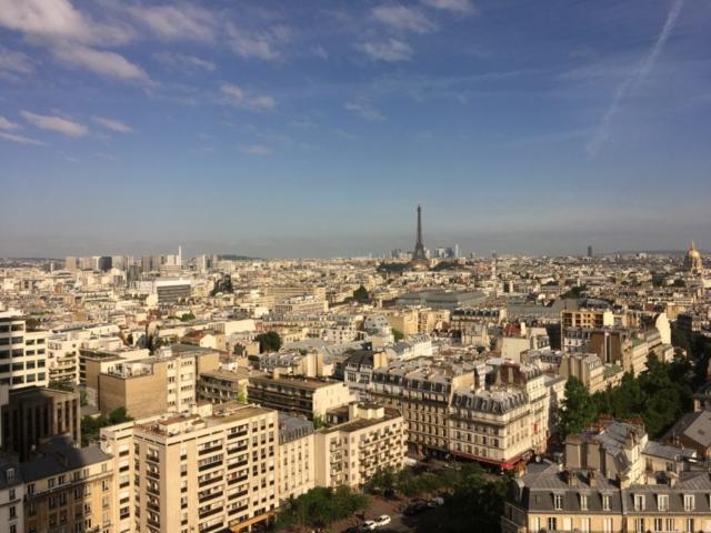Vue parisienne depuis la Tour Montparnasse